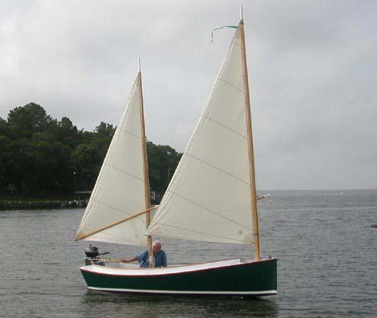 Catbird 16 - Sailing Camp Cruiser - Boat Plans - Boat Designs
